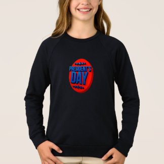 President's Day Text USA Celebration Sweatshirt