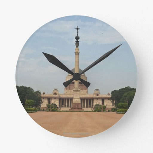 President's House Round Clock
