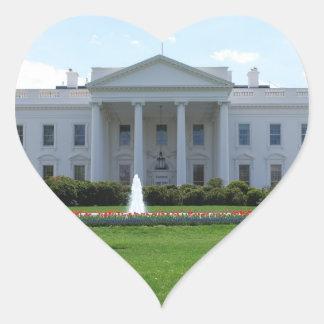 President's House Heart Sticker