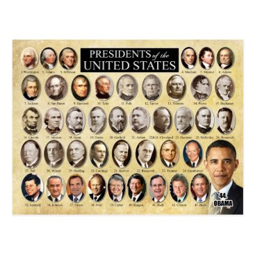 HTMimages Presidents of the United States of America Postcard