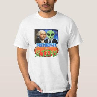 Presidents vs. Aliens T-Shirt
