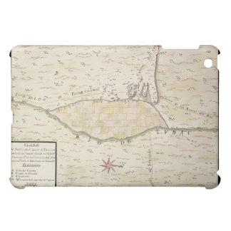 Presidio de San Ignacio de Tubac historic map iPad Mini Case