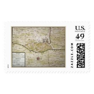 Presidio de San Ignacio de Tubac historic map Postage Stamp
