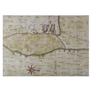 Presidio de San Ignacio de Tubac Map Cutting Board