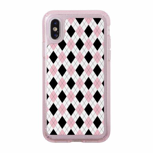 Presidio Glitter Pink iPhone X Case