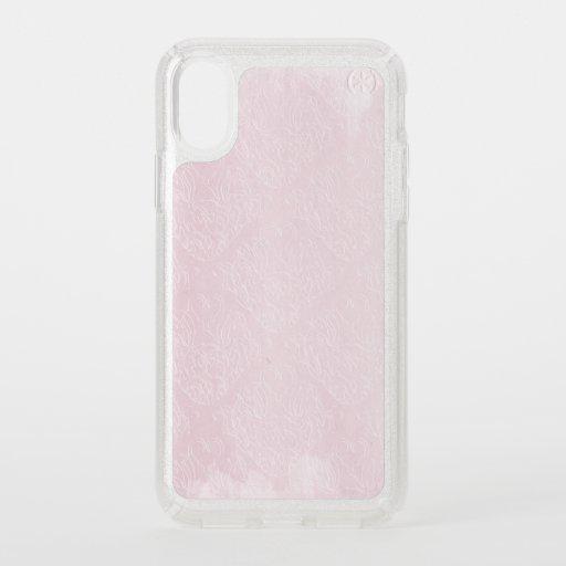 Presidio Glitter Silver iPhone X Case