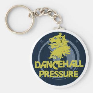 Presión de Dancehall Llavero Redondo Tipo Pin