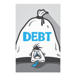 Presión de la deuda papelería