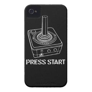 Presione la caja del iPhone 4 del comienzo Case-Mate iPhone 4 Fundas