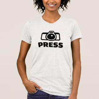 Presione la cámara camiseta
