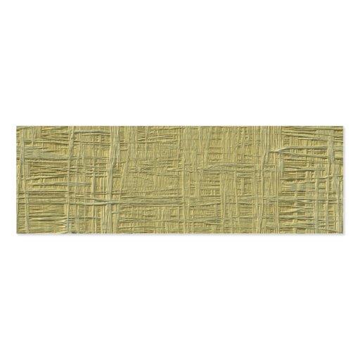 Presione la textura de madera del tablero falsa tarjetas de visita mini