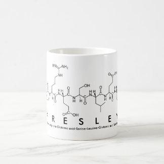 Presley peptide name mug