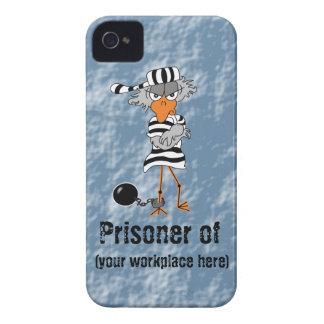 """""""Preso caja de la zarzamora del trabajo"""" iPhone 4 Protectores"""