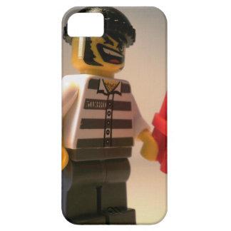 Preso de Convict Minifig con los palillos de la iPhone 5 Carcasa