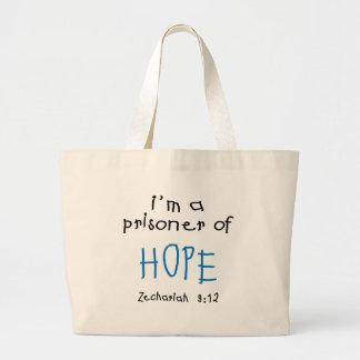 Preso de la esperanza bolsa tela grande