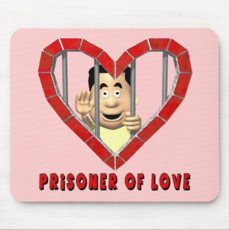 Preso de las camisetas y de los regalos del amor mouse pads