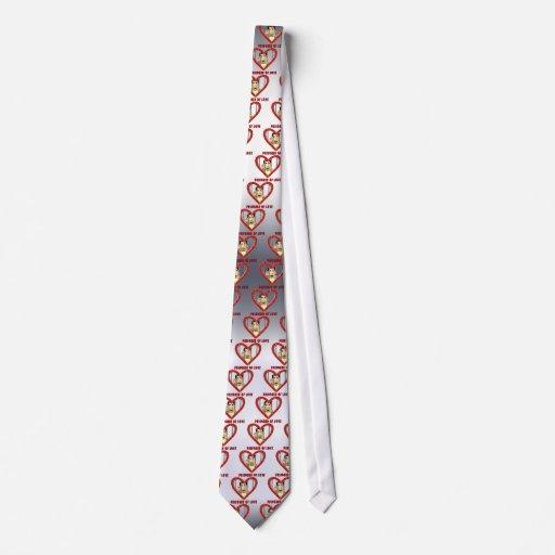 Preso del amor 2 corbatas personalizadas