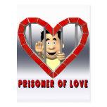 Preso del amor 2 postal