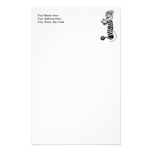 Preso del ratón papeleria personalizada