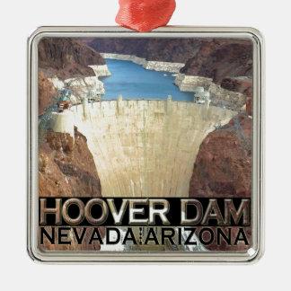 Preso Hoover Adorno Navideño Cuadrado De Metal