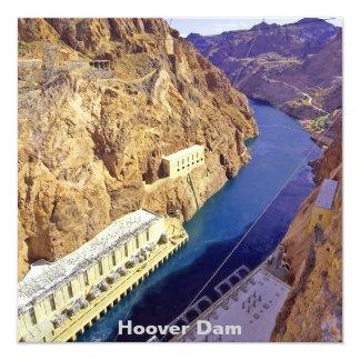 Preso Hoover en Arizona Invitación 13,3 Cm X 13,3cm