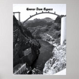 Preso Hoover, puente del Preso Hoover Póster