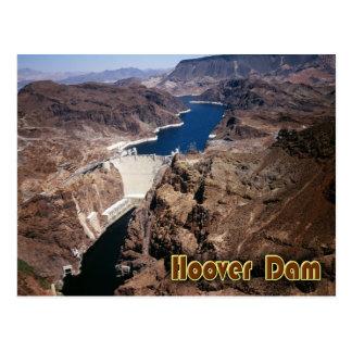 Preso Hoover - visión aérea Postal