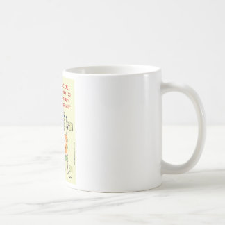 presos colgantes del incumplimiento de la taza de café