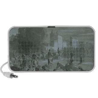 Presos de Communard escoltados a Versalles, 1871 Mp3 Altavoz