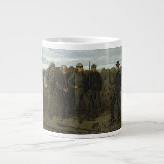 Presos del frente de Winslow Homer 1866 Tazas Extra Grande