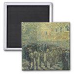 Presos que ejercitan, Van Gogh, bella arte del Imán