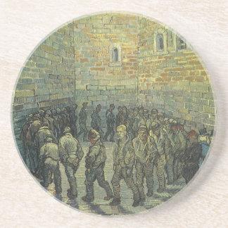 Presos que ejercitan, Van Gogh, bella arte del Posavasos De Arenisca
