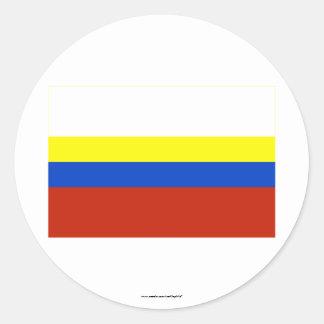 Presov Flag Classic Round Sticker