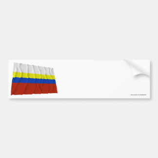Presov Waving Flag Bumper Sticker