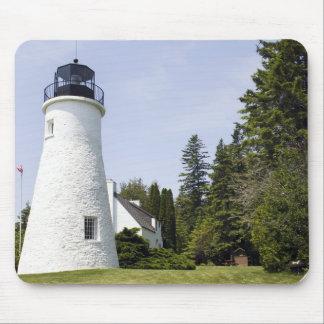 Presque Island Old Lighthouse Mousepad