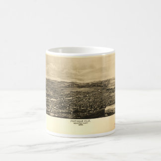 Presque Isle Aroostook County Maine (1894) Basic White Mug