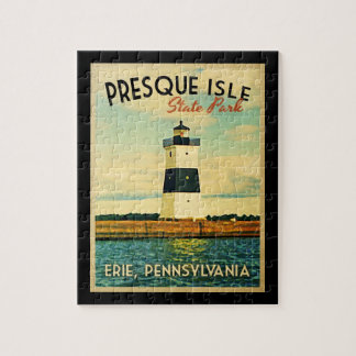 Presque Isle Lighthouse Jigsaw Puzzle