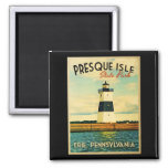 Presque Isle Lighthouse Magnet