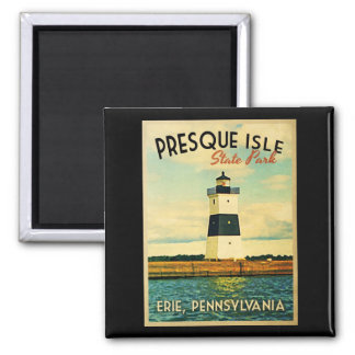 Presque Isle Lighthouse Magnet