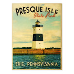 Presque Isle Lighthouse Postcard