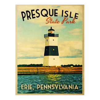 Presque Isle Lighthouse Postcard