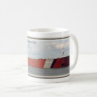 Presque Isle with stripe mug