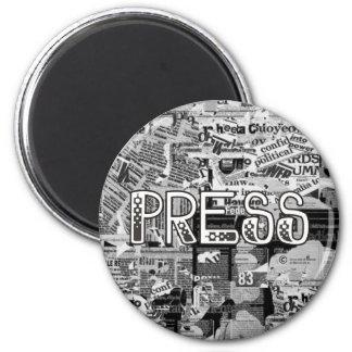 Press 2 Inch Round Magnet