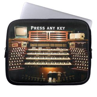 Press any key laptop sleeve