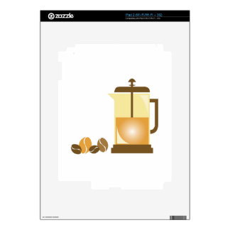 Press & Beans iPad 2 Decal