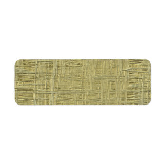 Press board wood texture faux label