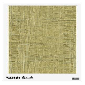 Press board wood texture faux wall sticker