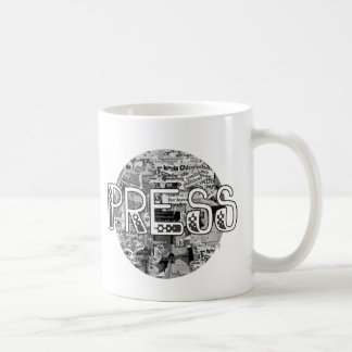 Press Coffee Mug