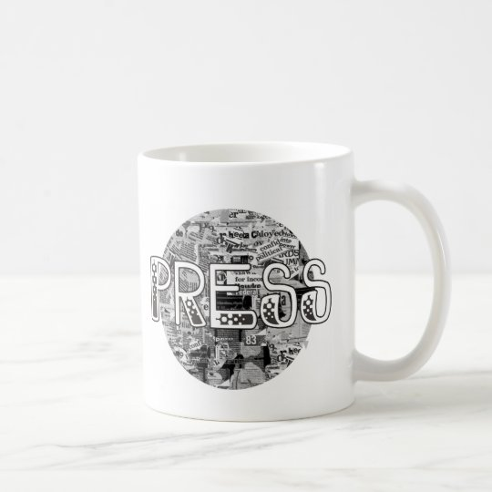 Press Coffee Mug