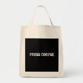 PRESS CORPSE TOTE BAG
